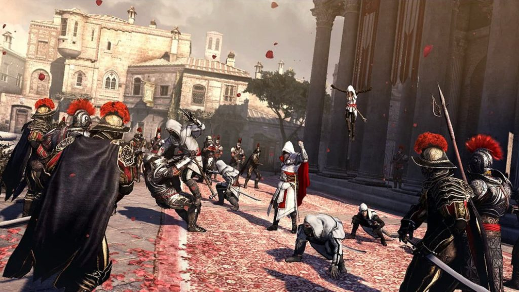 Qual o melhor Assassins Creed Brotherhood - gameplay