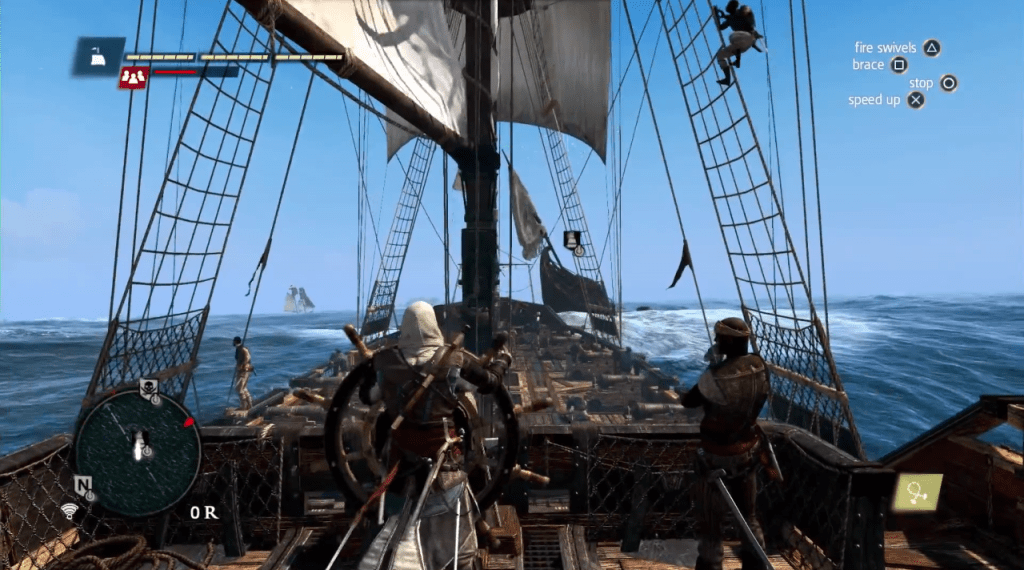 Qual o melhor Assassins Creed IV Black Flag - gameplay