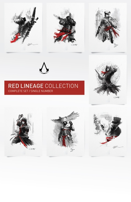 UbiWorkshop-red-lineage-complete-set