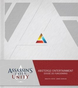 Livros-de-Assassins-creed-Dossiê-do-funcionário-Abstergo-Entertainment-Assassins-Creed-Unity