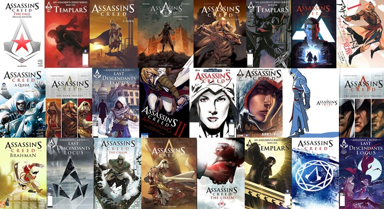 Os-quadrinhos-de-Assassins-Creed-Capa